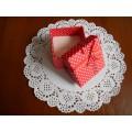 Коробочка для бижутерии, цвет красный, BBS896