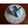 Коробочка для бижутерии, цвет голубой, BBS898