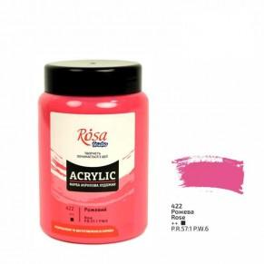 Краска акриловая Розовая, 400 мл, 322419422