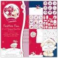 Набор бумаги Festive Fun, 30х30 см, 12 листов, Fizzy Moon, НР-FZXDP01