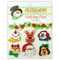Набор пуговиц Santa and Friends, Buttons Galore, CM101