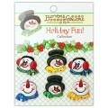Набор пуговиц Snowman Medley, Buttons Galore, CM105