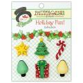 Набор пуговиц Christmas Presents, Buttons Galore, CM106