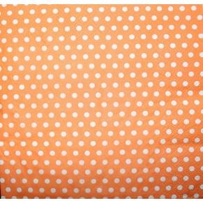 Салфетка для декупажа Точки Оранжевые, FNT010
