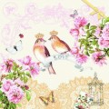 Салфетка для декупажа Птички, SD105