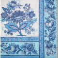 Салфетка для декупажа Голубой орнамент, SD117