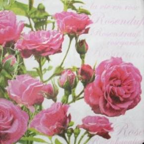 Салфетка для декупажа Магия роз, SD122