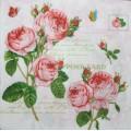 Салфетка для декупажа Почтовая карточка Розы, SD127