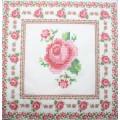 Салфетка для декупажа Вышивка Орнамент с розами, SD129