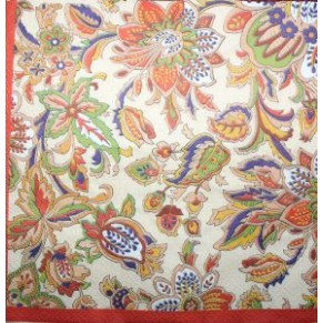 Салфетка для декупажа Цветочный орнамент, SD136