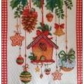 Салфетка для декупажа Новогодние радости, SD144