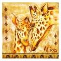 Салфетка для декупажа Жирафы, SD80