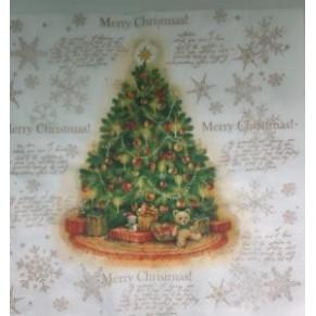 Салфетка для декупажа Рождественская елка, SD99