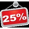 -25% на товары категории Новый год