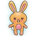 Штамп Snag 'em Stamps - Bunny, Imaginisce, 003757
