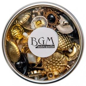 Набор пуговиц  Antique Mix, Buttons Galore, 02687
