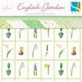 Набор бумаги English Garden, 20 х 20 см, 24 листа, GCD Studio, 0497