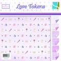 Набор бумаги Love Token, 20 х 20 см, 24 листа, GCD Studio, 0659