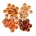 Люверсы Standard Eyelets – Aluminum Orange, 60 шт, WERMEMORY KEEPERS, 41574-9