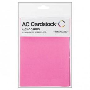 Заготовки для открыток Lipgloss, 10x14 см, 12 шт, American Crafts, 71366