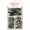 Штампы акриловые Wall to Wall Textures, Bo Bunny, 10105763