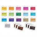 Набор штемпельных подушечек, 22 шт, Color Box, Clear Snap, 11222