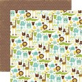 Бумага t's A Boy, 30х30 см. Echo Park, BJB-12-46002
