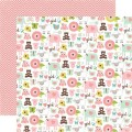 Бумага It's A Girl, 30х30 см, Echo Park, BJG-12-45002
