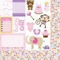 Бумага Cute Cuts 30х30 см, Bella BLVD, blvd-408