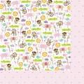 Бумага It's a Girl, Baby Girl, 30х30 см от Bella BLVD, blvd-416