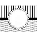 Папка для тиснения Circle Frame, 12,7х17,78 см, CGull, 12-0006