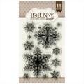 Штампы акриловые Snowflakes, Bo Bunny, 12105156