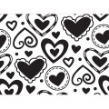 Папка для тиснения Layered Hearts, Embossing Folder, 10.8 х 14.5 см, Darice, 1216-69