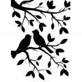 Папка для тиснения Birds Branch, 10,8х14,60 см, Darice, 1219-102
