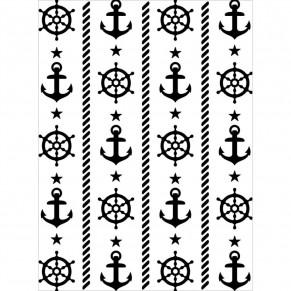 Папка для тиснения Nautical Theme, Darice, 1219-209