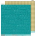 Бумага Midterm - Steve's Keyst, Midterm, 30 х 30 см, Bella BLVD, 141