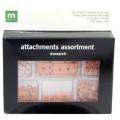 Набор металлических креплений Attachments assortment kit Monarch, Making Memories, 24292