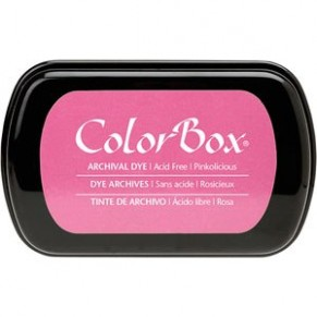 Чернила ColorBox Archival Dye Ink Full Size, Pinkolicious, Clear Snap, 27006