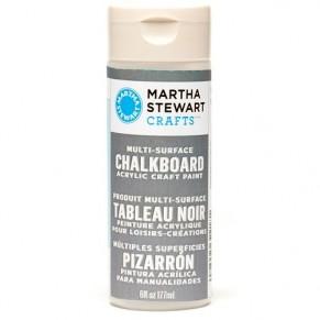 Multi-Surface Chalkboard Acrylic Craft Paint – Gray, Martha Stewart Crafts, 32218