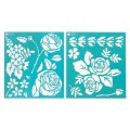 Трафарет Rose Garden Laser-Cut Stencils, Martha Stewart Crafts, 32253