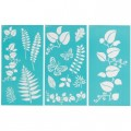 Трафарет Ferns and Boughs Laser-Cut Stencils, Martha Stewart Crafts, 32254