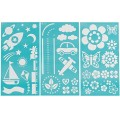 Трафарет Playroom Laser-Cut Stencils, Martha Stewart Crafts, 32302