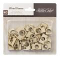 Деревянные фигурки Wood Veneer-Cameras, Studio Calico, 331033