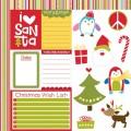 Бумага Cute Cuts, Chrtistmas Wishes, 30х30 см, Bella BLVD, 346