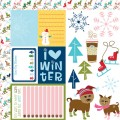 Бумага Cute Cuts, Winter Wonder, Bella BLVD, 358