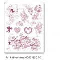 Набор штампов Love, Viva Decor, 400302000