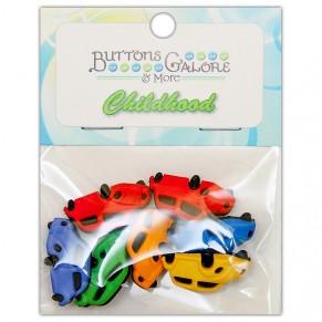 Набор пуговиц Cars, Buttons Galore, 4086