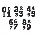 Штампы The Numbers ''0-1'' - Numbers, We R Memory Keepers, 41389-41393