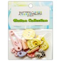 Набор пуговиц Baby Girl, Buttons Galore, 4144