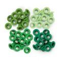 Люверсы Standard Eyelets – Aluminum Green, 60 шт, 41576-3